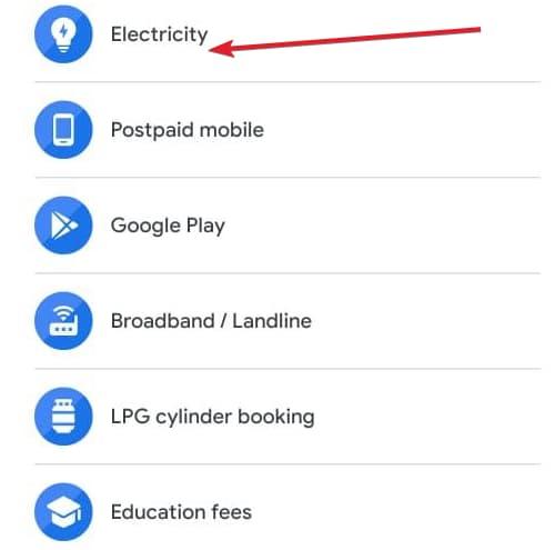 गूगलपे से पंजाब बिजली बिल कैसे चेक करें
